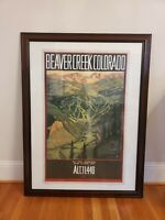 Beaver Creek Summer Colorado Signed Lithograph Poster Print David McMacken