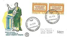 ITALIA REP. - 1974 - Bimillenario della morte di Marco Terenzio Varrone coppia