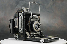 "- Graflex Miniature Speed Graphic ""Baby Graphic"" 6x9 Camera w/ 101mm Ektar Len"