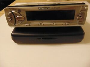 PANASONIC CQ-DFX301U Am/FM Stereo/Cd Player with Detachable Face Plate TESTED.
