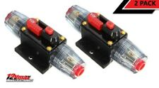 2 Pieces Car Stereo Inline Circuit Breaker Fuse 40 AMP 40A DC 12 Volts Audio