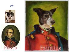 Custom Pet painting,Pet Portrait,Custom Oil Portrait,Hand Painted Oil Painting