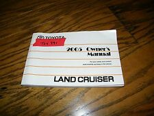 2005 Toyota Landcruiser Owners manual Toy391