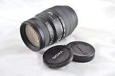 Sigma Zoom 70-300mm AF Camera Lens with Caps for Minolta
