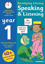 Speaking and Listening - Year 1: Photocopiable Activities for the Literacy Hour by Christine Moorcroft, Ray Barker (Paperback, 2006)