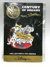 Disney Store 101 Dalmatians 1961 Cartoon Century of Dreams Pin Collection Series