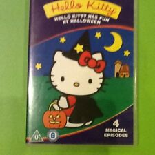 HELLO KITTY-DVD-KITTY HAS FUN AT HALLOWEEN-4 MAGICAL EPISODES-RUN TIME 46min.VGC
