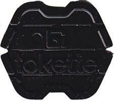 100 Black Tokettes GI Greenwald Laundry Tokens - Type 1 Tokette - New