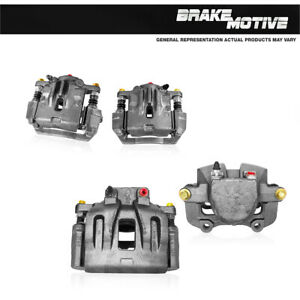 For 2007 2008 2009 Chevy Equinox Pontiac Torrent Front + Rear OE Brake Calipers