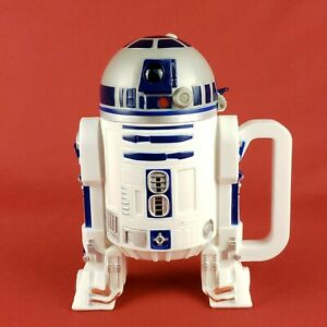 Large Disneyland R2D2 Droid Stein Cup Disney Star Tours Wars