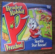 Reader Rabbit Preschool Sparkle Star Rescue The Learning Company
