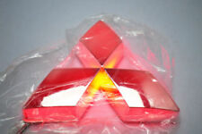 Mitsubishi Kühlergrill Emblem LED Auto Zeichen Beleuchtetes Logo Badge DRL Rot