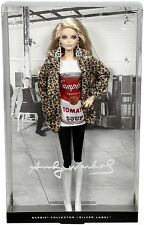 Beautiful Andy Warhol Barbie NRFB Campbell Soup