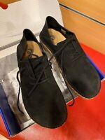 Birkenstock Gary black sneakers camoscio unisex