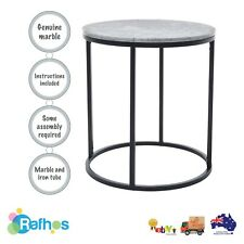 Round Side Table - Marble