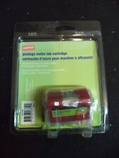 2 Staples SIP-E700 Postage Meter Ink Cartridges E707 RED FIT PITNEY BOWES 769-0
