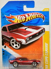 HOT WHEELS 2011 NEW MODELS '68 COPO CAMARO RED