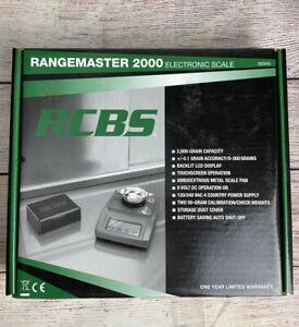 RCBS Rangemaster 2000 Electronic Scale 120/240V AC/9V Dc Md: 98945 Reloading