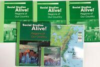Grade 4 Social Studies Alive 4th Curriculum Bundle Homeschool Student Teacher