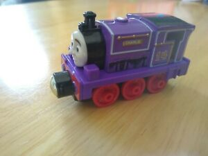 2013 Thomas & Friends Charlie Mattel Take-n-Play Gullane Purple #14 Train Engine