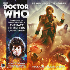 DOCTOR WHO Big Finish Audio CD Tom Baker 4th Doctor #4.7 THE FATE OF KRELOS