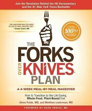 The Forks over Knives Plan - Alona Pulde MD / Matthew Lederman HARDCOVER W/DJ