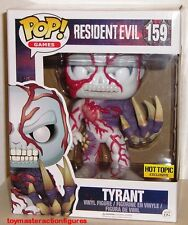 "FUNKO POP GAMES RESIDENT EVIL TYRANT #159 Hot Topic 6"" Super Size Fig IN STOCK"
