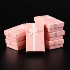 24pcs Rectangle Cardboard Jewelry Gift Boxes Necklace Earring Boxes 80x50x25mm