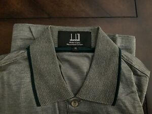 Alfred Dunhill London golf shirt L-sleeve M Nwot Luxury