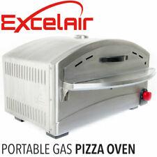 Excelair EPO001 Portable Outdoor LPG Gas Pizza Oven - Black