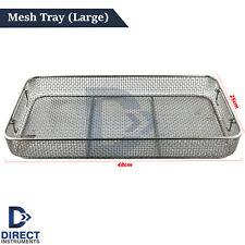 Mesh Tray Wire Basket Sterilization Surgical Dental Instruments Storage Rack Ce