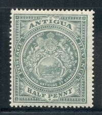 ANTIGUA 31 SG41 MH 1908-20 1/2p Seal Wmk Mult Crown CA Cat$5
