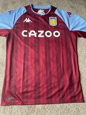 More details for signed aston villa shirt by full 21/22 squad - proceeds to teenage cancer trust