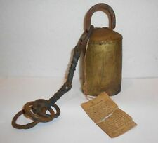 Vintage Collector Bells of Sarna Camel Bell with Tag