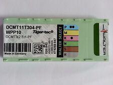 10 Walter Wendeplatten DCGT11T302-PF2 WXN10 NEU inkl.19% MwSt.