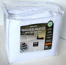 BIDDEFORD QUILTED HEATED MATTRESS PAD KING