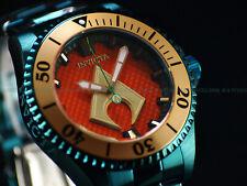 """New Invicta Men's DC Comic """" Aquaman """" 47mm Grand Diver LE Automatic Green Watch"""