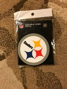 Pittsburgh Steelers Flexible Logo Decal