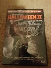 Halloween II DVD (SIGNED)