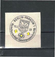 Ungeprüfte Briefmarken aus dem Deutschen Reich (bis 1945) mit Sonderstempel