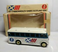 LLEDO DAYS GONE XIII COMMONWEALTH GAMES SCOTLAND 1986 COMPETITORS COACH - BOXED