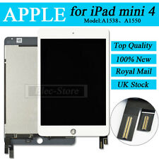 White Screen For iPad Mini 4 4th Gen Replacement LCD Display & Digitizer Touch