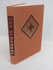 Washington Irving THE ALHAMBRA Heritage Press c. 1969 w/ Sandglass