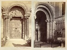 ELY CATHEDRAL BY FRITH INTERIOR + EXTERIOR VIEWS GROUP OF 6 VINTAGE PRINTS