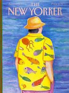 New Yorker COVER 06/13/1988  Sea Creature Shirt