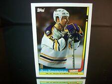 Dale Hawerchuk Topps 1991 Card #2 Buffalo Sabres NHL Hockey