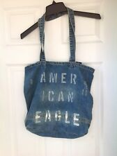 American Eagle Denim Tote Bag NWT