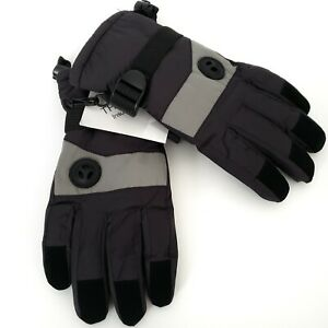 Highloong Womens Winter Gloves Large 3M Thinsulate Tricot Lining Adj Wrist Strap