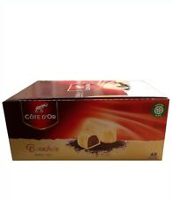 Cote D'or Bouchees White Blanc Wit Belgian Chocolates 24.5g Each - Pack of 48