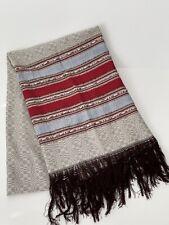 Cotton beach / bath/ multipurpose towel -Turkish style - grey with golden thread